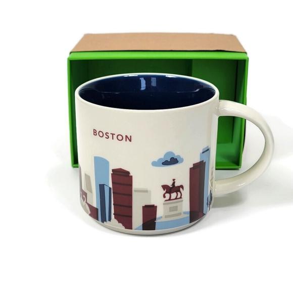 Starbucks You Are Here Collection Boston Mug